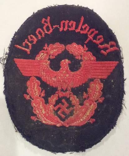 Interesting Nazi Patch
