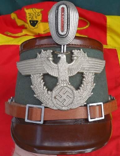 Rural Police Tschako