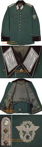 does anyone know how rare an officers visor for this tunic is?