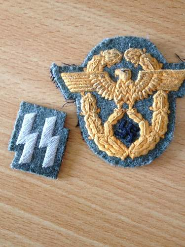 SS Polizei insignia