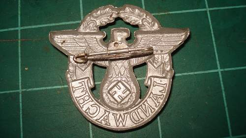 Land watch badge. Hope it goes here
