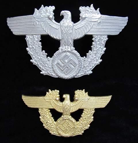 police cap badges