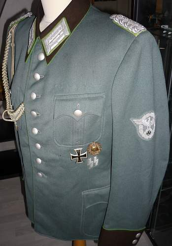 SS police tunic