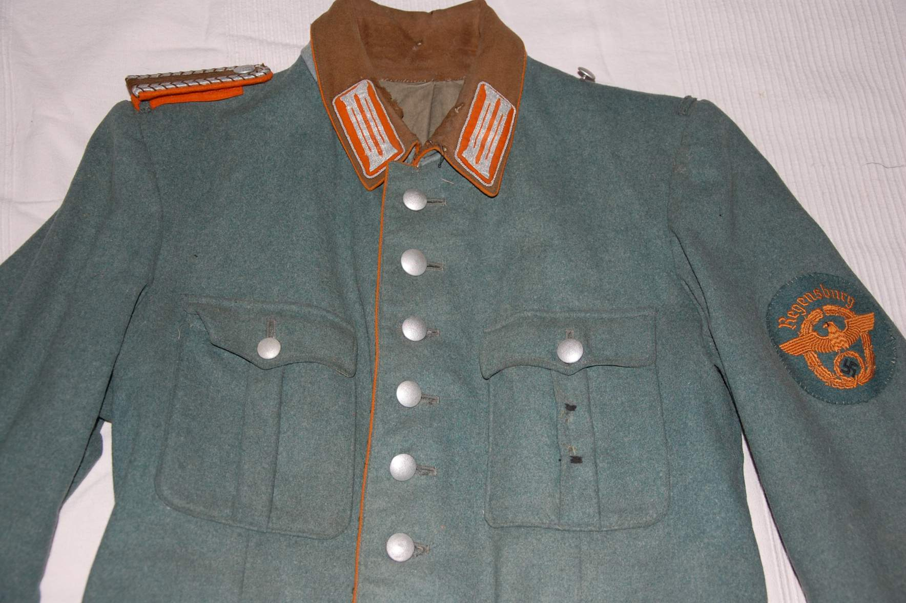 Question German Gendarmerie Uniform And Other Things Found
