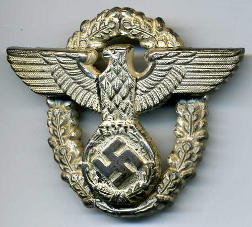 My New Two-Piece Officers Cap Eagle
