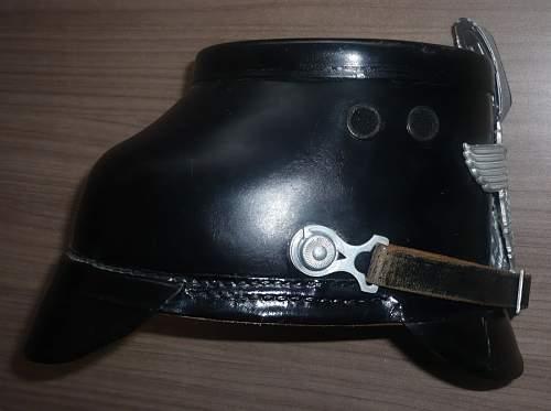 Polizei Tschako