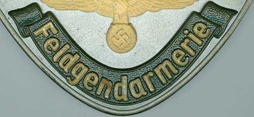 Feldgendarmerie gorget for review/opinions