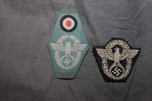 polizei cloth eagles