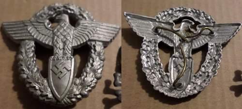 unknown Polizei badge