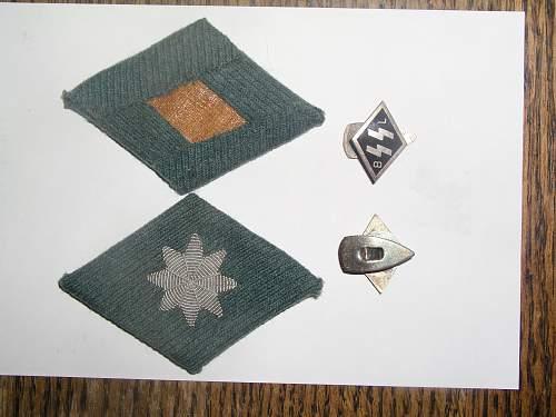 Unusual Specialty Diamond---Police?