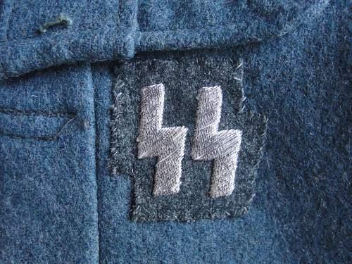Police runic badge