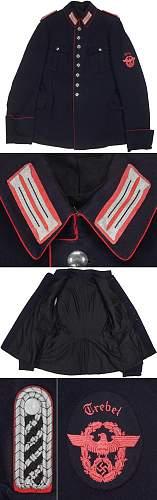 Feuershutzpolizei Uniform