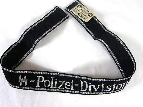 Need help authenticating SS 4th Polize PG Cuff Title