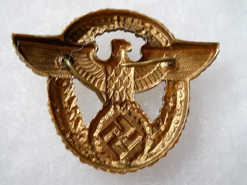 Polizei cap eagle for review