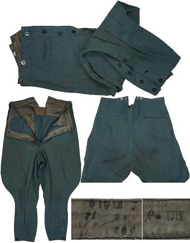 WW2 German Polizei Breeches