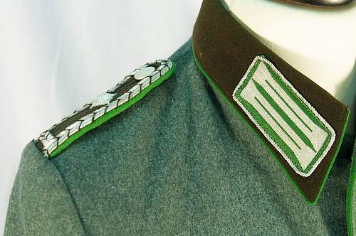 Oberwachmeister Polizei Jacket