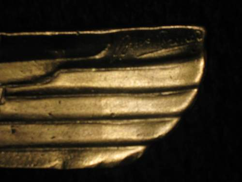 Large brass eagle ?