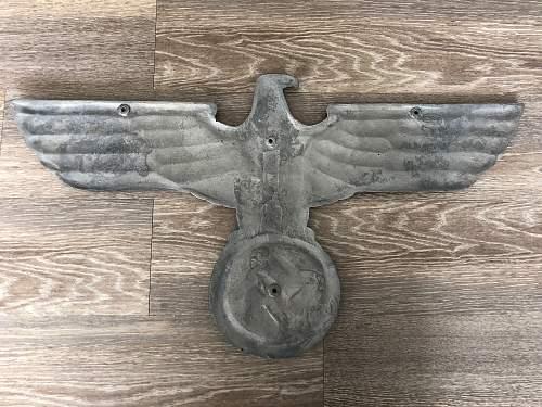 Reichsbahn Eagle Confirmation