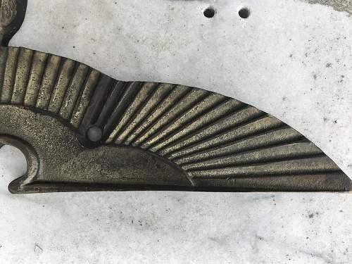 REICHSTAG  Bronze Eagle