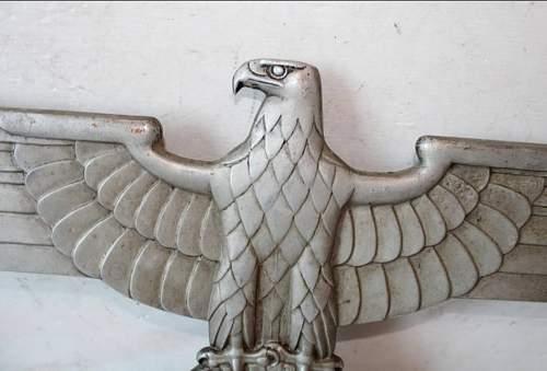 "28"" Metal Eagle, need help!"
