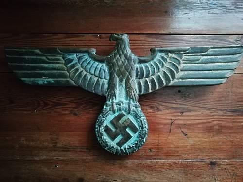German railway-eagle
