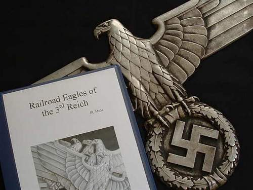 Extremely Rare Railroad Eagle