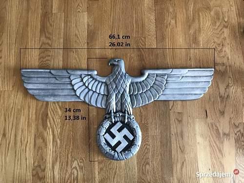 Deutsche Reichsbahn Railway Eagle opinion needed
