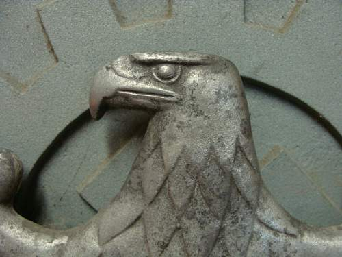 Train Carriage Eagle Plaque