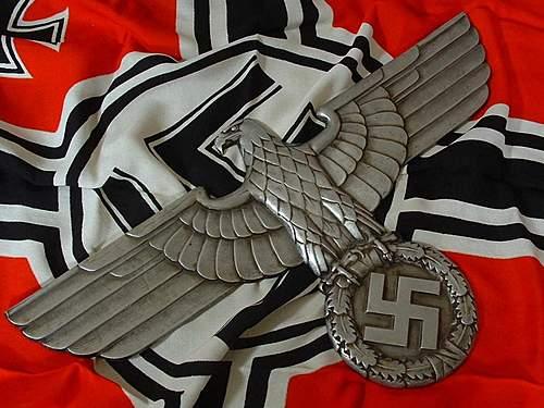 Deutsche Reichsbahn Adler.