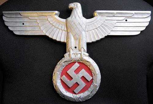 Need Help Identifying this Eagle Plaque...