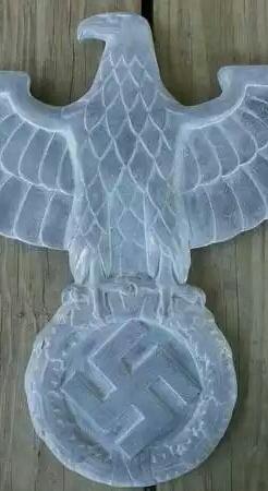 Railroad/building eagle, real?