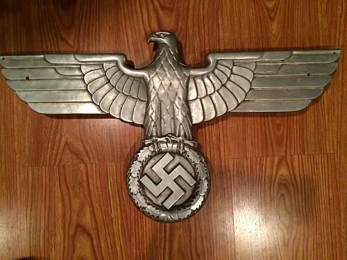 "German ""railway / railroad"" Eagle - Information wanted"