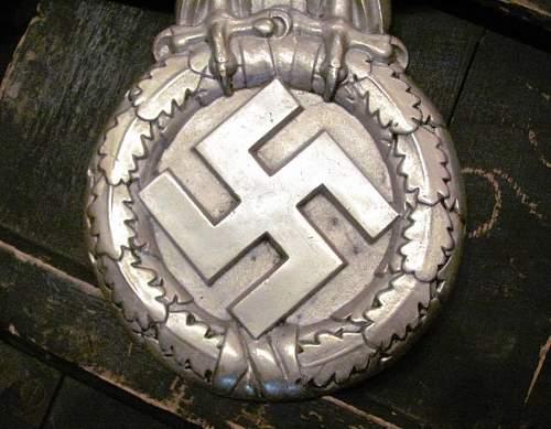 """27"""" Deutsche Reichsbahn Eagle - Rhein Metall / Borsig"""