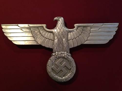 """Deutsche Reichsbahn Railroad Eagle by """"PS"""""""