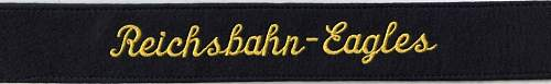 Reichsbahn Eagles Book and my thanks to Wim Saris