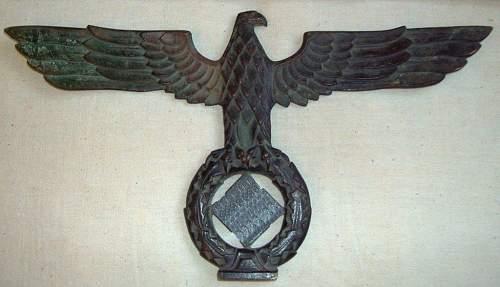 WWII German Bronze Eagle