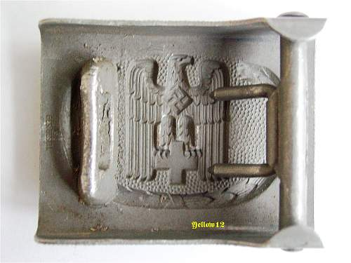 Red Cross Officer Buckle - Overhoff & Cie of Ludenscheid