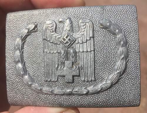 DRK buckle zinc flatback