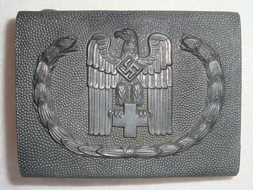Deutsche Rote Kreuz Belt Buckle