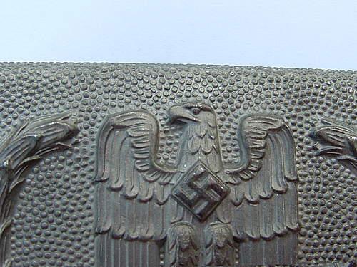 Deutsches Rote Kreuz belt buckle
