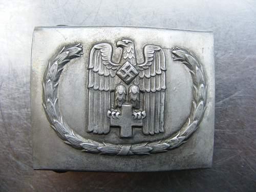 Deutsches Rotes Kreuz - DRK Belt Buckle??