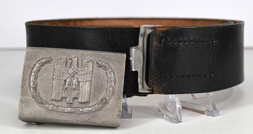 For Review - OLC DRK buckle and belt