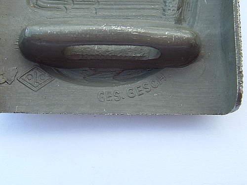 2nd pattern DRK aluminum buckle