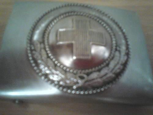 DRK belt buckle to ID