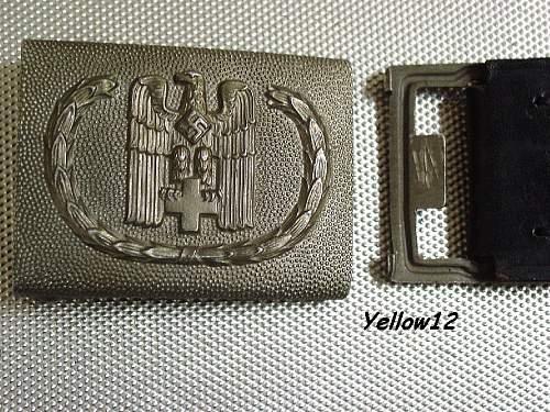 DRK Buckle w/De Valk Belt