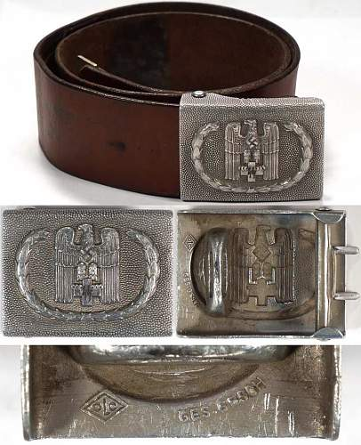 Drk belt and buckle with ss runes?