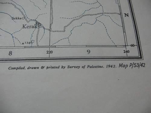 Map of Palastine (1942)