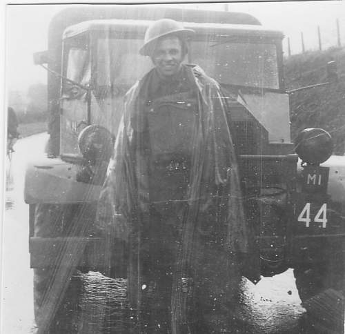 Click image for larger version.  Name:Dad in front of his Chev. C8 CMP.jpg Views:8 Size:92.0 KB ID:1057550