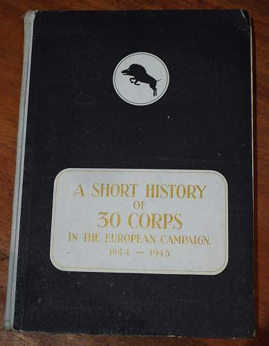 30 Corps limited edition History.......