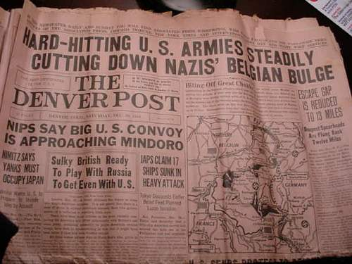 1945 newspapers,worth anything?